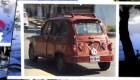 """El carro de los """"Picapiedras"""" al estilo argentino"""