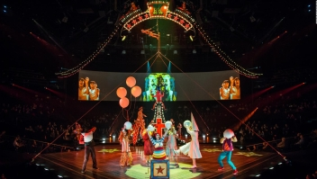 "Un vistazo a ""LOVE The Beatles"" de Cirque du Soleil"