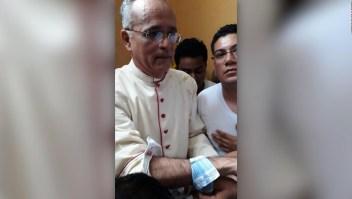 Monseñor Silvio José Báez fue herido por violencia en Diriamba