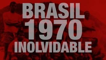 El tricampeonato de Brasil en el Mundial de 1970