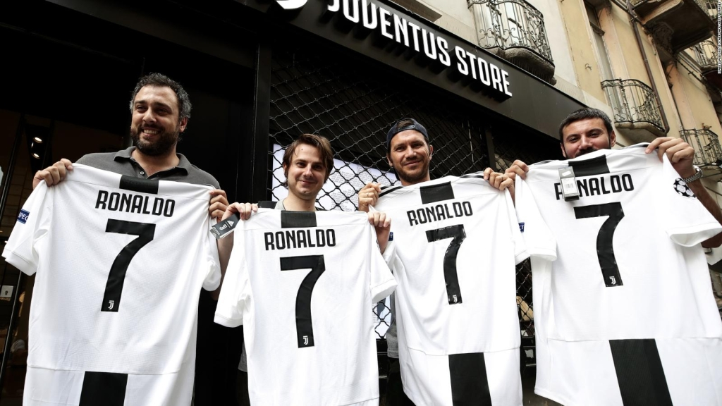 La llegada de Cristiano a la Juventus