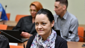 Beate Zschape condenada a cadena perpetua