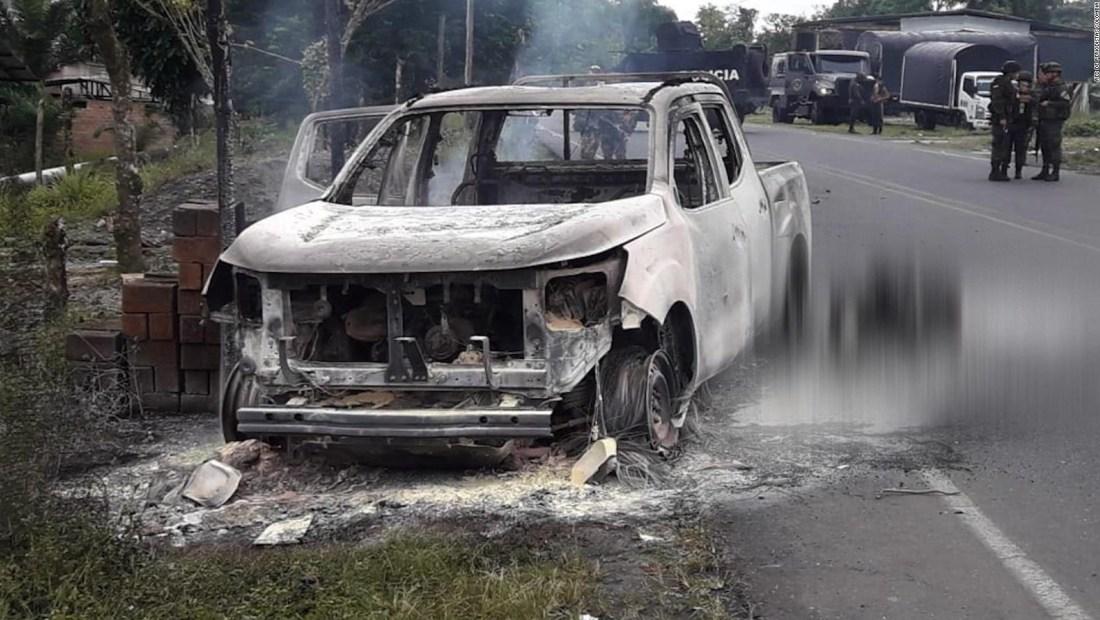 Atentado en Tumaco mata a tres funcionarios del CTI en Tumaco