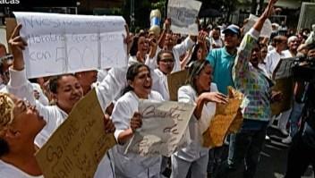 El gremio de enfermería sigue en pie de lucha en Venezuela