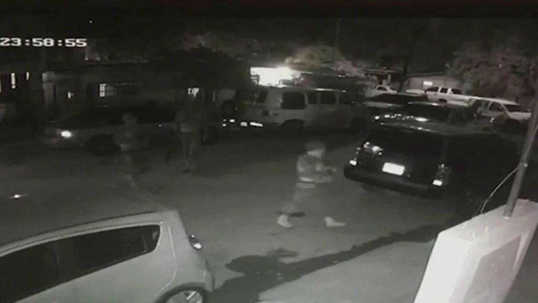 Video capta a funcionarios de la Marina en caso de desaparición