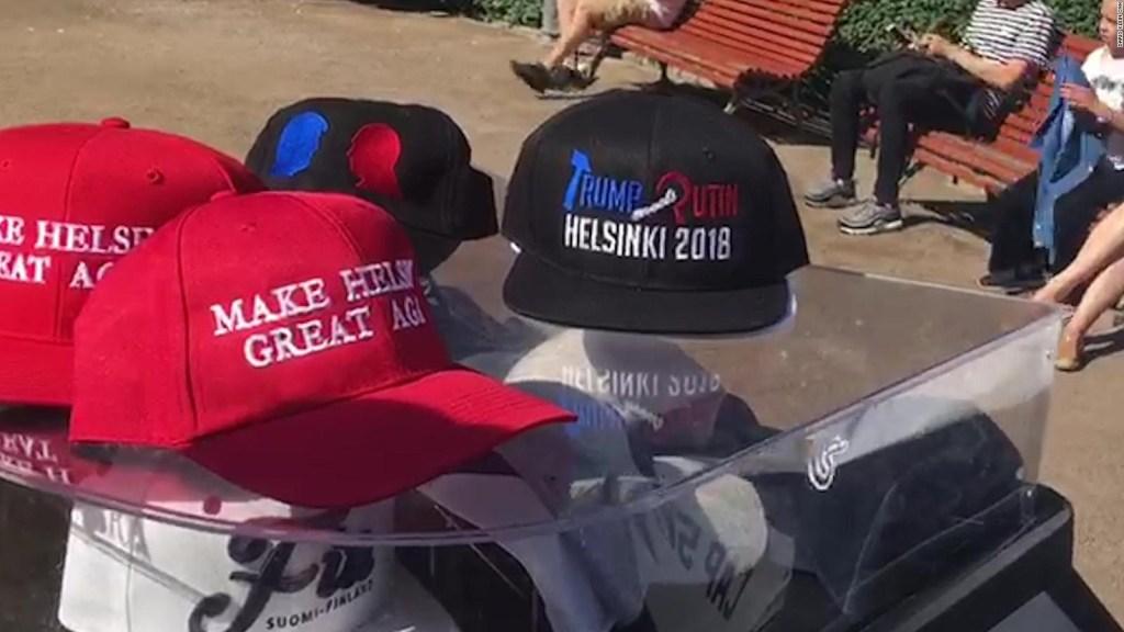 Helsinki se prepara para la cumbre entre Putin y Trump