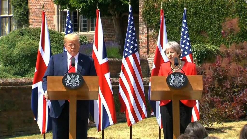 Trump y May aseguran que sus países se apoyarán
