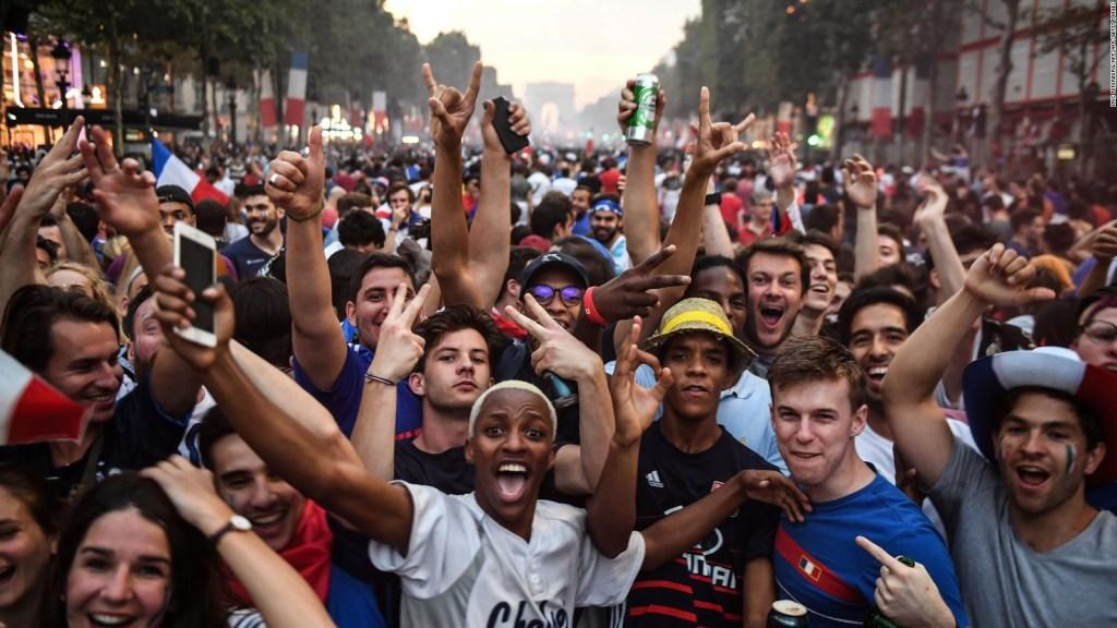 Delirio en París: miles festejaron el título mundial de Francia