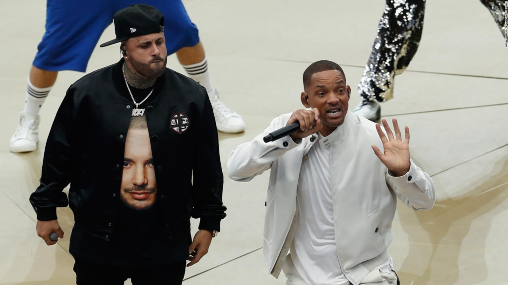 Will Smith y Nicky Jam a puro baile en la calles de Moscú