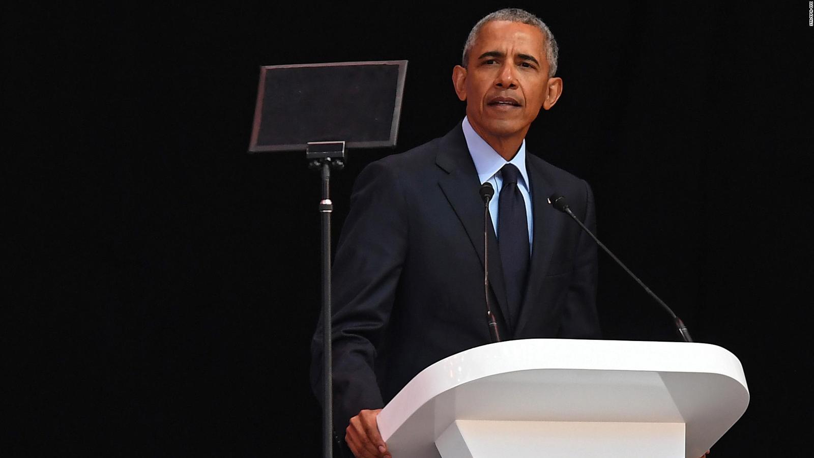"""Obama alerta sobre """"tiempos extraños e inciertos"""" en el mundo"""