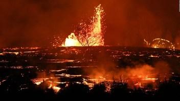 Lo que el volcán Kilauea destruyó en Hawai en dos meses