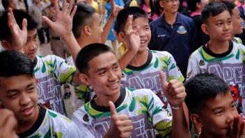 ¿Cómo decidieron los niños de Tailandia quién saldría primero de la cueva?