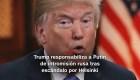 #MinutoCNN: Trump responsabiliza a Putin de intromisión rusa