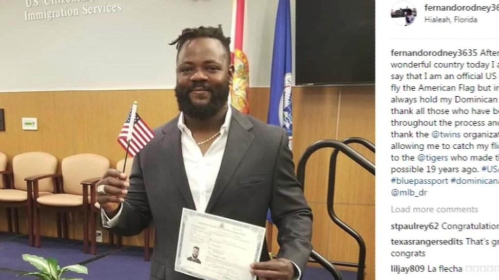 El esfuerzo de Fernando Rodney para obtener su ciudadanía de EE.UU.