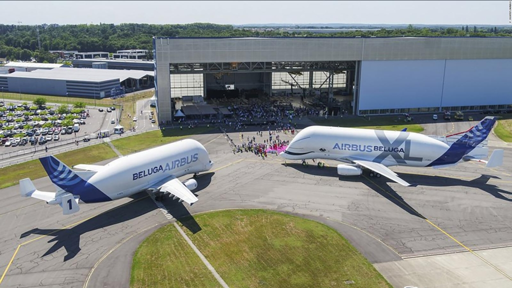 Conoce el Airbus Beluga XL, una ballena voladora