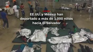 #MinutoCNN: EE.UU. y México han deportado a más de 1.000 niños