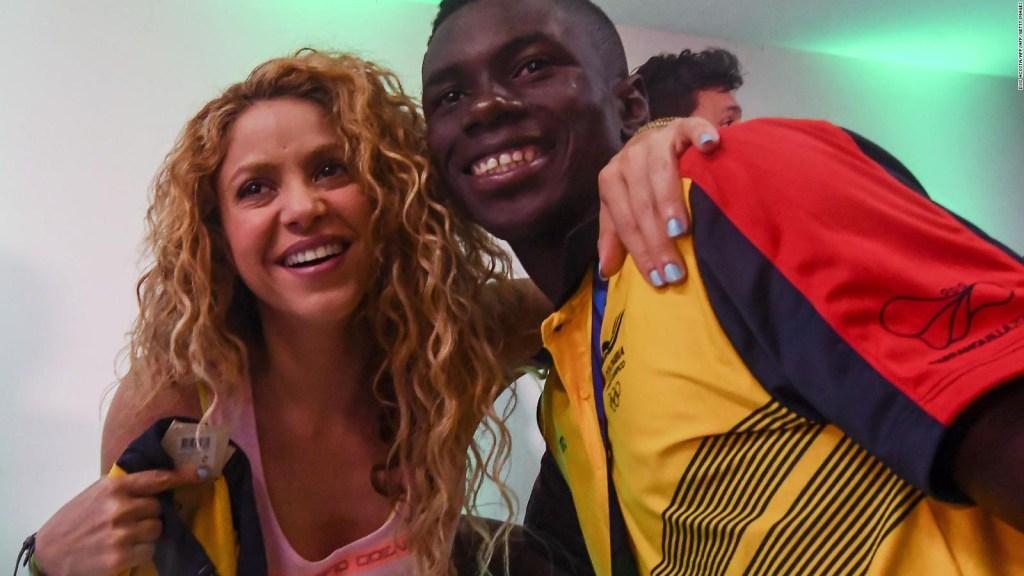 Shakira canta en Colombia durante los Juegos Centroamericanos y del Caribe