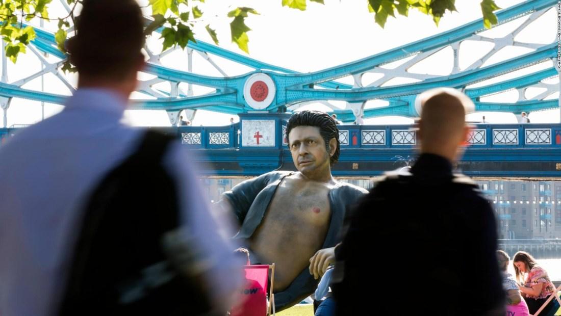 #EstoNoEsNoticia: simpático homenaje en Londres