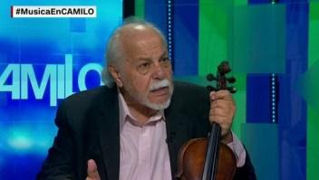 Toda una vida con el violín entre las manos