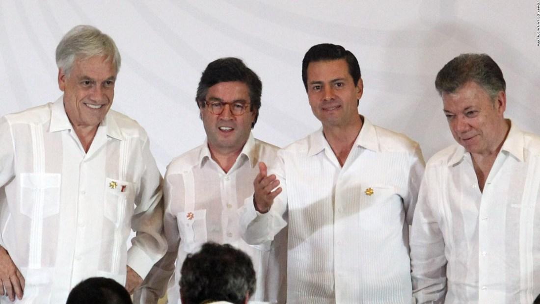 Piñera a Peña Nieto y Santos: Hay vida después de la presidencia