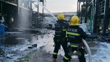 Explosión cerca de la embajada estadounidense en Beijing