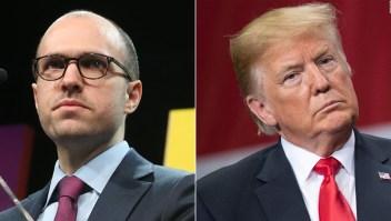 Trump critica reunión privada que él dio a conocer