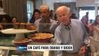 Un café para Obama y Biden, por favor