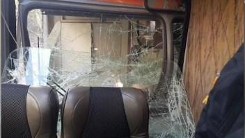 Reportan choque de trenes en Machu Picchu, Perú