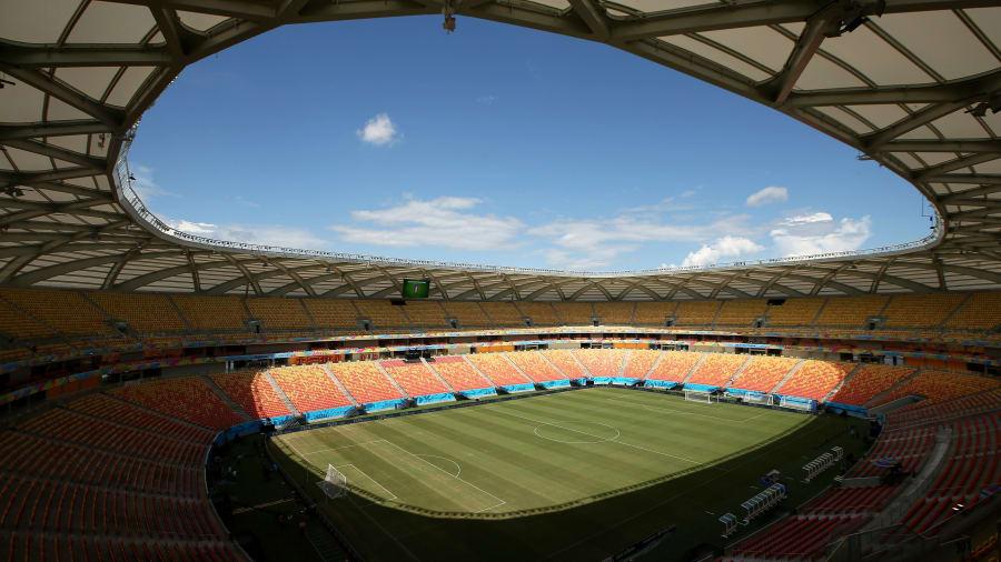 Arena da Amazônia: este estadio en el Brasil rural fue construida¡o para la Copa del Mundo y los Juegos Olímpicos de 2016, y luego dejó de usarse.