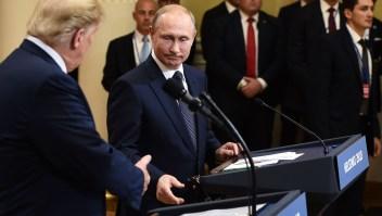 """Putin dice que la Guerra Fría """"es una cosa del pasado"""" y que Rusia """"nunca ha interferido"""" en las elecciones de EE.UU."""