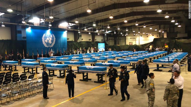 Se cree que los restos de soldados estadounidenses asesinados en la Guerra de Corea se encuentran en la base aérea de Osan en Corea del Sur.
