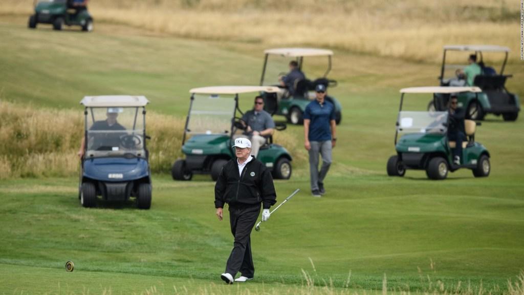 #LaCIfraDelDía: Los días del presidente Trump en sus campos de golf durante su presidencia