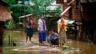 Inundaciones en Myanmar dejan al menos 15 muertos