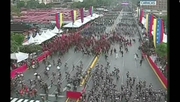 Interrumpen evento de Maduro en Caracas por serie de ruidos