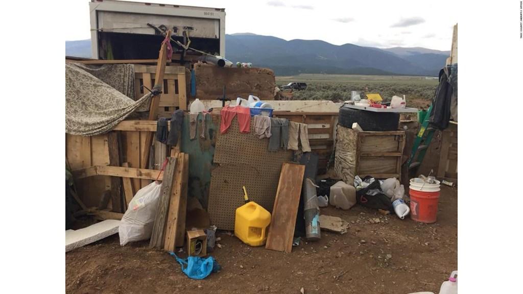 11 niños rescatados de condiciones deplorables en campamento en Nuevo México