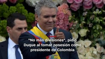 #MinutoCNN: Duque asume presidencia de Colombia y más noticias