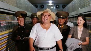 Un Kim Jong Un casual, mientras está bajo presión de EE.UU.