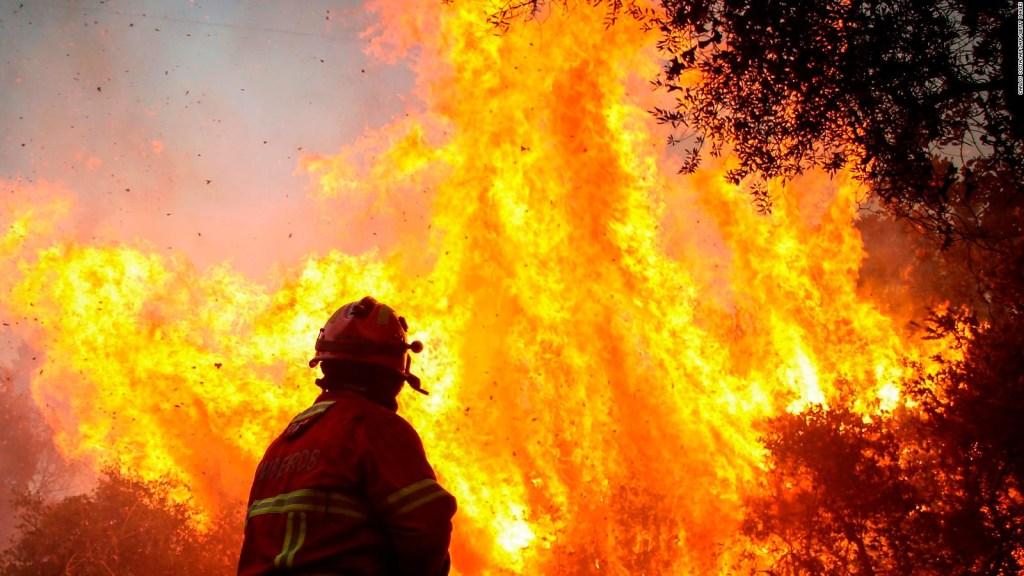 25 heridos por un incendio en Portugal