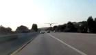 Avión aterriza de emergencia en una autopista en California