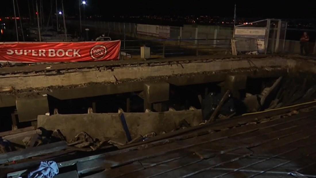 Cientos de heridos al desplomarse plataforma en un festival en España