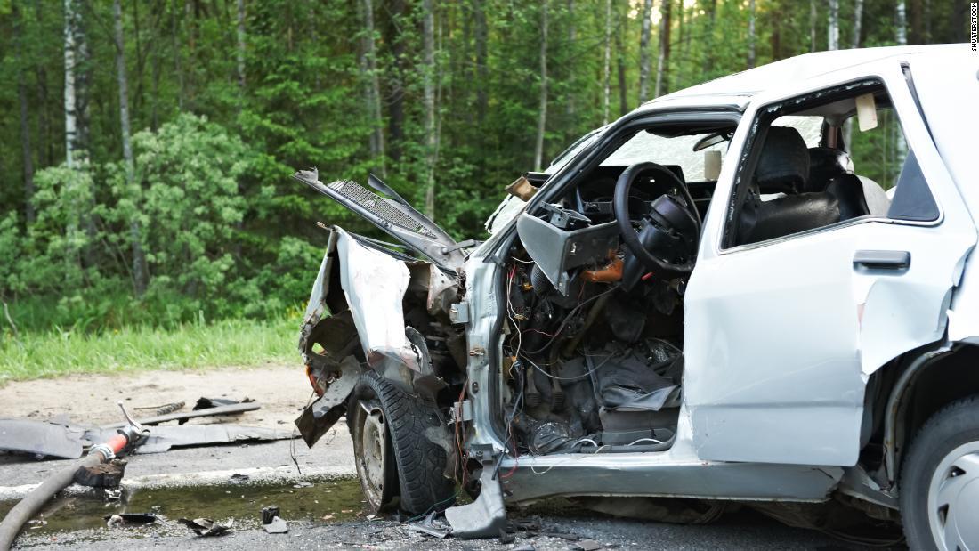 Accidente de coche.