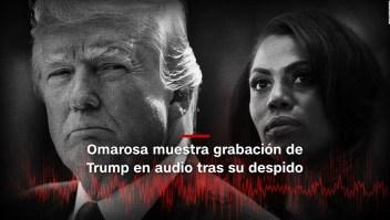 #MinutoCNN: Omarosa grabó a Trump en audios tras su despido