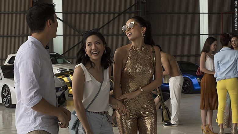 Escena de la película 'Crazy Rich Asians'