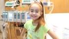 La niña sorprendida por Drake recibió un trasplante de corazón