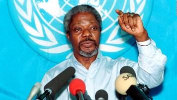 Las tragedias y triunfos de Kofi Annan en la ONU