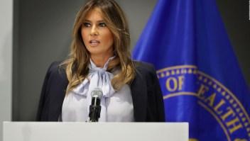 Trump y Melania, dos formas opuestas de comunicar