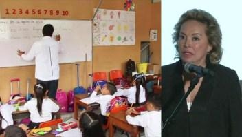 Reaparición de Elba Esther Gordillo coincide con el regreso a clases