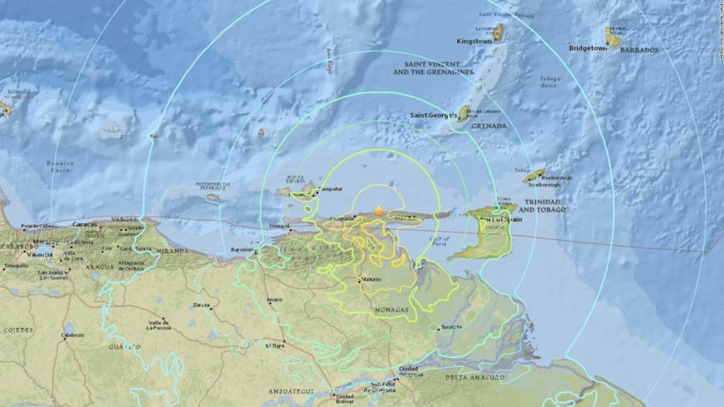 Sismo en Venezuela se sintió en países vecinos como Colombia