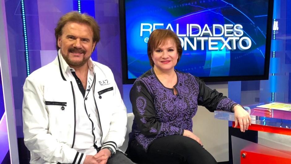 Joaquín y Lucía Galán, más conocidos como Pimpinela