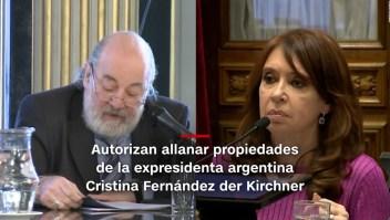 #MinutoCNN: Autorizan allanamientos contra expresidenta argentina